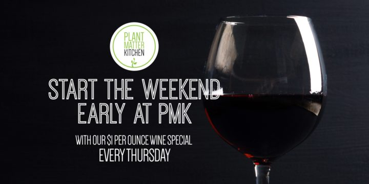Start The Weekend Early At PMK